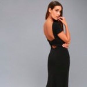Dresses & Skirts - Black backless Lulu's dress